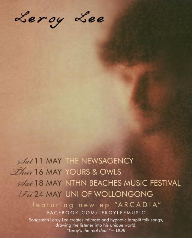 May gig poster